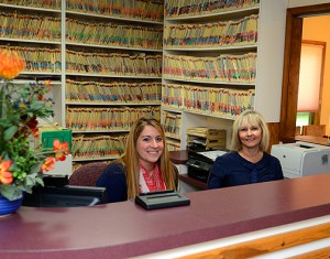 Friendly front desk assistance for Harleman Family Dentistry, serving the Pocono region, Brodheadsville, Stroudsburg, Albrightsville, Lehighton, Palmerton areas.